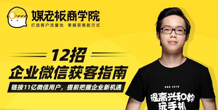 12招企业微信获客指南-百度网盘-下载